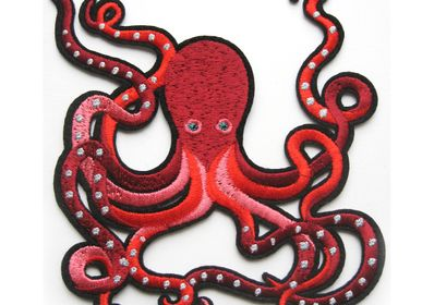 Apparel - Large Patch - Greek Octopus - MACON & LESQUOY