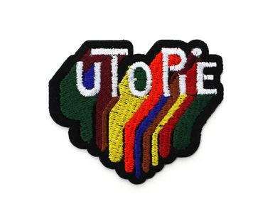 Apparel - Iron-on patch - Utopia - MACON & LESQUOY