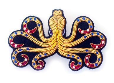 Apparel - Brooch - Greek Octopus - MACON & LESQUOY