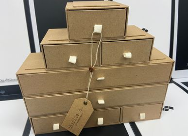 Storage boxes - Recyclable Kraft Paper Storage Box - SHUN SUM GROUP LTD.