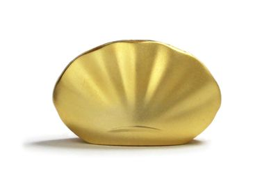 Party decorations - Kolip shell Gold/Incense Holder  - SHOYEIDO INCENSE CO.