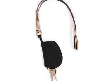 Leather goods - Key Black/Gold details - MLS-MARIELAURENCESTEVIGNY