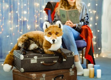 Birthdays - Eco friendly Christmas Custom Realistic toy fox. Faux taxidermy - KATERINA MAKOGON