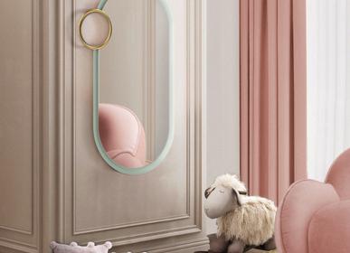 Miroirs - BUBBLE GUM SMALL MIRROR - CIRCU