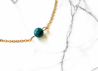 Jewelry - Blue Apatite Link Bracelet - GIVE ME HAPPINESS