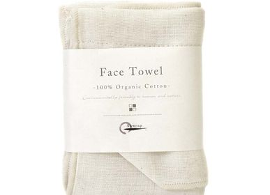 Other bath linens - Organic Face Towels - NAWRAP