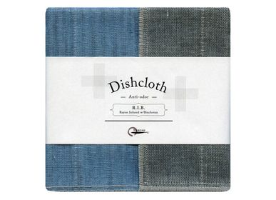 Dish towels - R.I.B. (Rayon-infused Binchotan) Dishcloths - NAWRAP