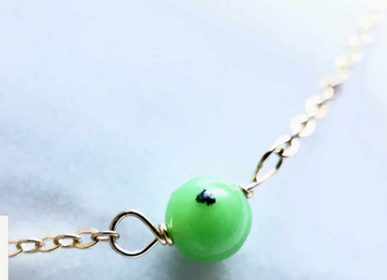 Bijoux - Bracelet fermoir Chrysoprase - GIVE ME HAPPINESS