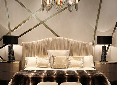 Beds - Plisse Bed  - COVET HOUSE