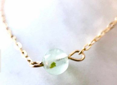 Jewelry - Necklace 40/42 cm Prehnite - GIVE ME HAPPINESS