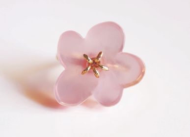 Bijoux - Flower Ring / Rose Quartz - NAM