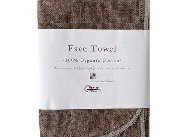 Fabrics - Organic Binchotan Face Towels - NAWRAP