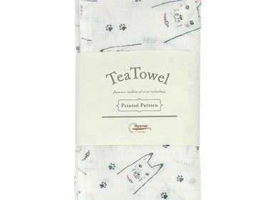 Linge de table textile - Torchons imprimés - NAWRAP