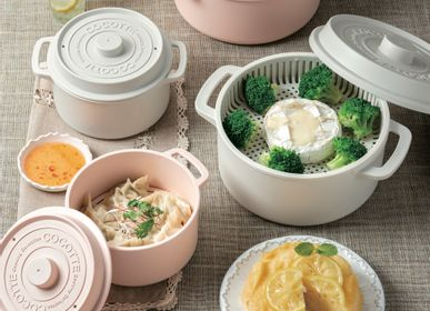 Stew pots - COCOT-STYLE MICROWAVE OVEN POT - THE SKATER CO.,LTD.