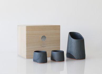 Assiettes au quotidien - Ensemble de saké /Sake-Yuki - TSUKI YASUDAKAWARA JAPAN