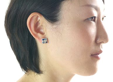 "Jewelry - TEGAKI ""ONPU""【Hand-drawn ""Music Notes""】Earrings - NANAYOSHA"