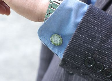 Gifts - KOMON【Traditional Patterns】Cufflinks - NANAYOSHA