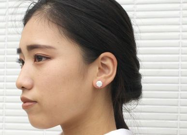 Gifts - NANAKAKU【heptagon tiles】 Earrings - NANAYOSHA
