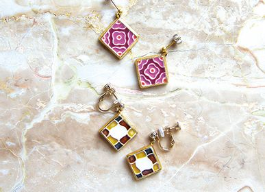 Jewelry - 【MOSAIC】Earrings (L) - NANAYOSHA