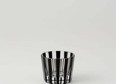 Verres - KUROCO STRIPE Tasse à saké - KIMOTO GLASS TOKYO