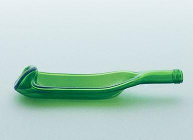 Glass - funew bowl L green - KIMOTO GLASS TOKYO