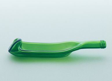 Verres - funew bowl L green - KIMOTO GLASS TOKYO