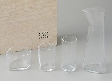 Glass - Foison Gift Box with Wooden Box - KIMOTO GLASS TOKYO
