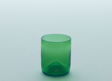 Verres - funew cup L green - KIMOTO GLASS TOKYO