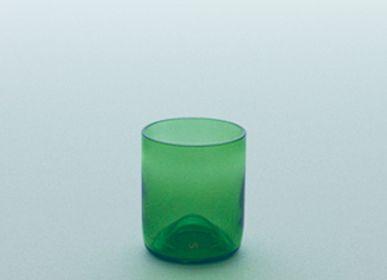 Glass - funew cup L green - KIMOTO GLASS TOKYO