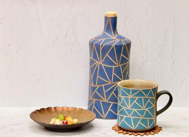 Mugs - YouLA original Mug by Tamba pottery - YOULA SELECTION