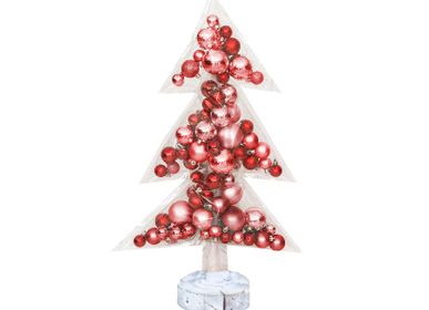 Christmas garlands and baubles - Christmas tree with ornements  - MX HOME