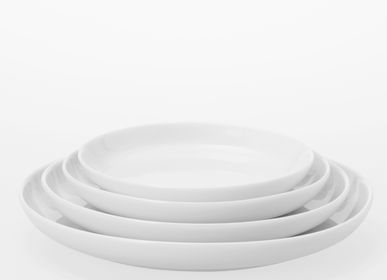Assiettes de réception  - Plat rond en porcelaine 131 mm /150 mm/173 mm/201 mm - TG