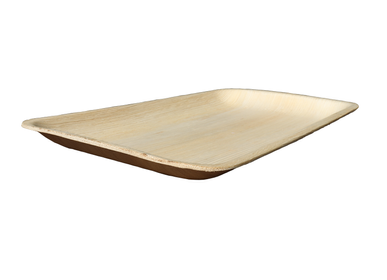 Plats/saladiers - Lot de 2 plats rectangle (30x18cm) - ARECABIO