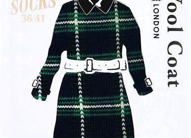 """Cadeaux - Chaussettes pour Femmes  """"Plus One"""" - ABINGPLUS DECO & GIFT"""