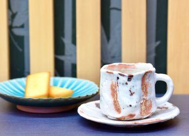 Mugs - ShinoCoffee cup & saucer - YOULA SELECTION