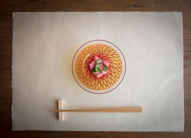 Verre d'art - Senjugiku (chrysanthème doublé) Bol M - HYAKUSHIKI