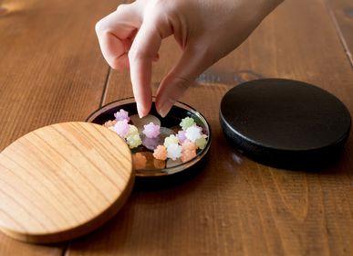 Art glass - schale lid - HYAKUSHIKI