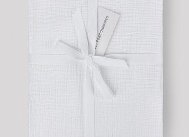 Linge de lit - Drap plat en double gaze de coton - LES PENSIONNAIRES