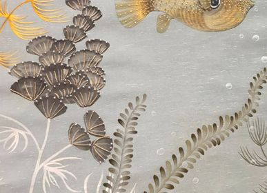 Wallpaper - Underwater Jewels Wallpaper - LALA CURIO LIMITED