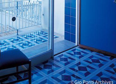 Objets de décoration - aimant carrelage bleu  - METROCS