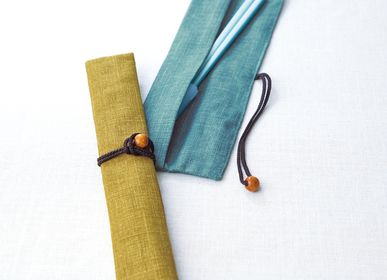 Gifts - Eco friendly-chopsticks bag made of cotton - HASHIFUKU