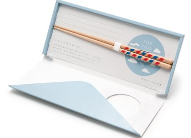 Cutlery service - Letter with chopsticks - HASHIFUKU