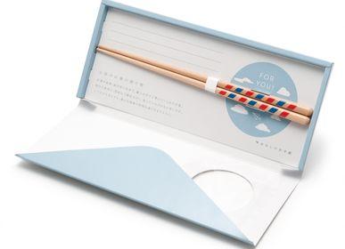 Cadeaux - Lettre avec baguettes - HASHIFUKU
