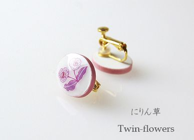 Jewelry - CHIISAI-E【Little Picures】Earrings - NANAYOSHA