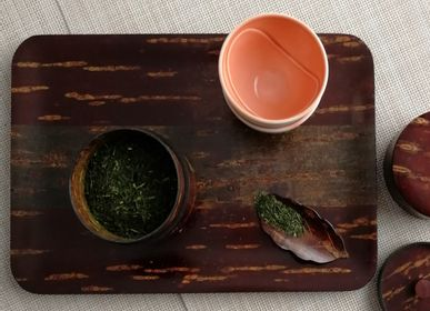 Tea and coffee accessories - Rectangle Hariwake - TOMIOKA
