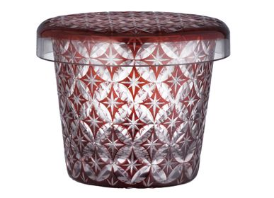 Chambres d'hotels - Futachoko Edo Kiriko Cut Glass Cloisonne - HIROTA GLASS MFG. CO., LTD.