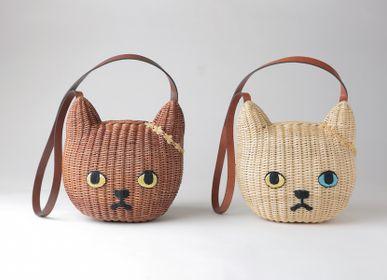 Bags and totes - Rattan Bag Cat  / M size - KEORA KEORA TOKYO