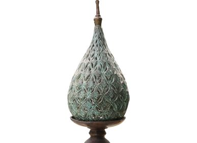 Decorative objects - Thai Bronze Candle Holder - NYAMAN GALLERY BALI