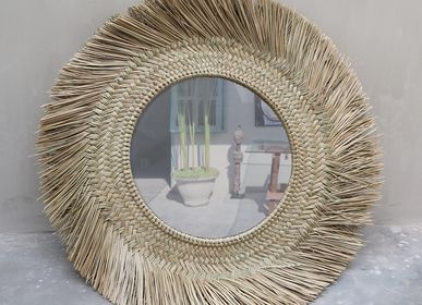 Other wall decoration - Luna Wall Mirror - NYAMAN GALLERY BALI