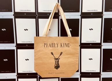 Bed linens - Tote Bag Kraft Paper Recycled Packaging FSC - SHUN SUM GROUP LTD.